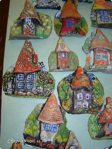 Вот такие получились домики! Помните?  http://stranamasterov.ru/node/180060 фото 2