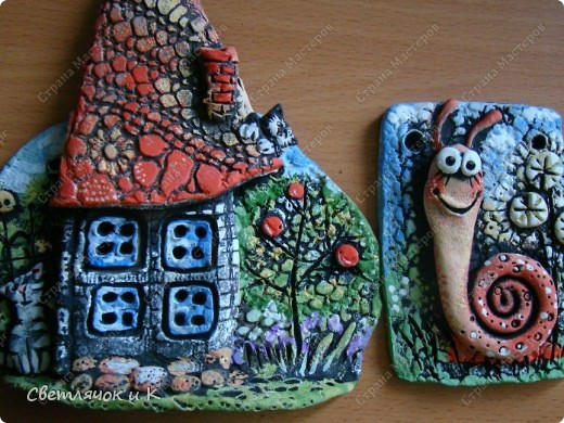 Вот такие получились домики! Помните?  http://stranamasterov.ru/node/180060 фото 3