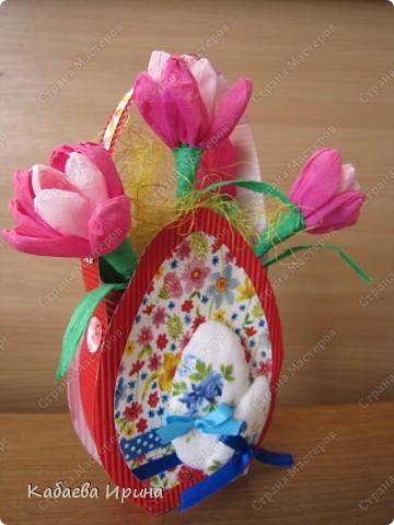 Пасхальный подарок, мини МК фото 10