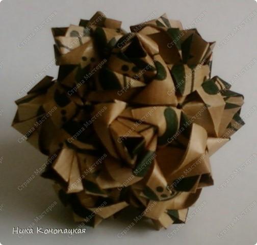 Name: Little Roses Designer: Maria Sinayskaya Parts: 30 Paper:7*7cm Joint: glue фото 3