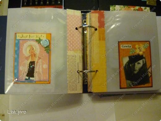 Альбом для АТС. Получив некоторое количество карточек в подарок начинаешь понимать что их надо где-то хранить. А поскольку карточки очень красивые хочется сделать красивый альбом. В интернете долго искала, нашла один интересный вариант: http://mama.tomsk.ru/forums/viewtopic.php?f=117&t=31311&start=0&view=print По мотивам этого альбома сделала свой. фото 8