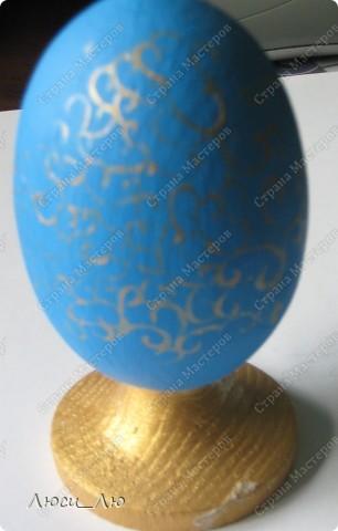 шкатулка и яйцо в технике декупаж фото 9