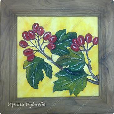 Это орхидеи из пшена, а трава нарисована. Всё рисуется и раскрашивается гуашью. фото 30