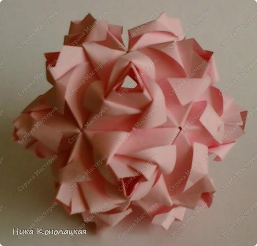 Name: Little Roses Designer: Maria Sinayskaya Parts: 30 Paper:3.5*7cm Joint: glue фото 3