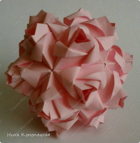 Name: Little Roses Designer: Maria Sinayskaya Parts: 30 Paper:3.5*7cm Joint: glue фото 1