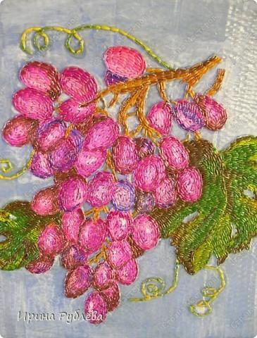 Это орхидеи из пшена, а трава нарисована. Всё рисуется и раскрашивается гуашью. фото 27