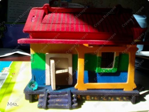 Вот такой домик получился :) фото 2
