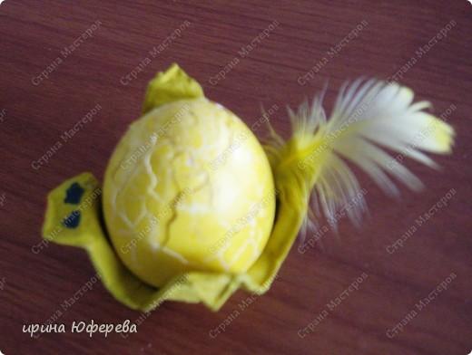 Яйцо из пенопласта, ленточки... фото 4