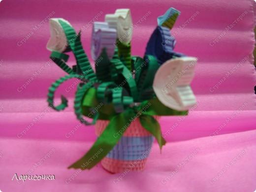 С приходом Весны мы каждый раз наслаждаемся красотой цветения разных растений, особенно покоряет красота цветов!!!!  Вот и нас весна не оставила равнодушными к её красотам. в результате у моих воспитанников получились вот такие вырощенные в горшочках цветы. У кого то это подснежники, у кого то крокусы, у кого то тюльпаны.....главное, что работы делали детки на одном дыхании и с удовольствием!!! фото 16