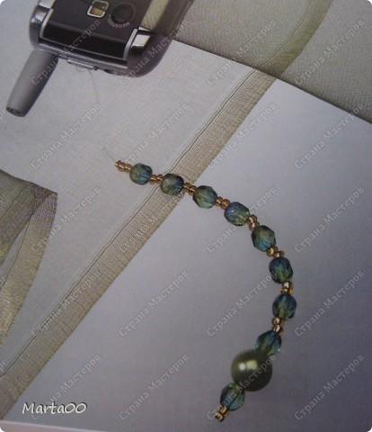 Всем доброго времени суток.Сегодня я расскажу как сделать вот такую нежную подвеску для телефона. фото 12