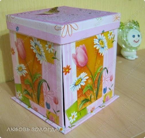 Много подобных коробочек было на сайте, но моя с другим секретом :)))) фото 1