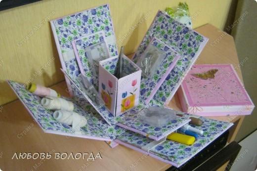 Много подобных коробочек было на сайте, но моя с другим секретом :)))) фото 2
