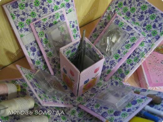 Много подобных коробочек было на сайте, но моя с другим секретом :)))) фото 3