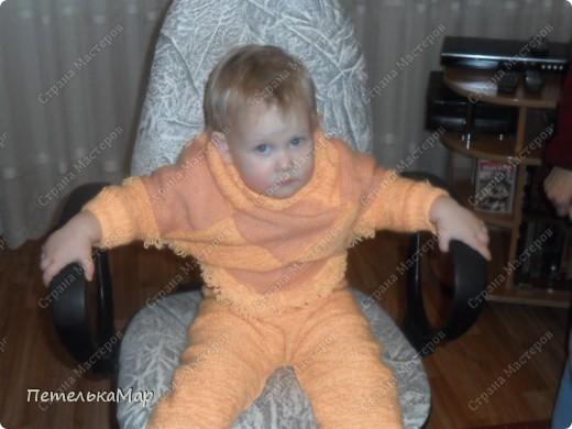 Пончо для дочурки. фото 1