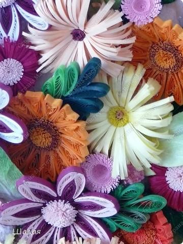 """""""Цветы в кувшине"""". Здесь оригинал http://stranamasterov.ru/node/145061. А это моя очередная работа с курсов Ольги К.  Спасибо ей огромное за уроки.  фото 3"""