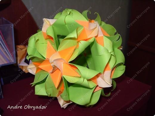 В оранжево-зеленых пастельных и одновременно ярких тонах фото 1