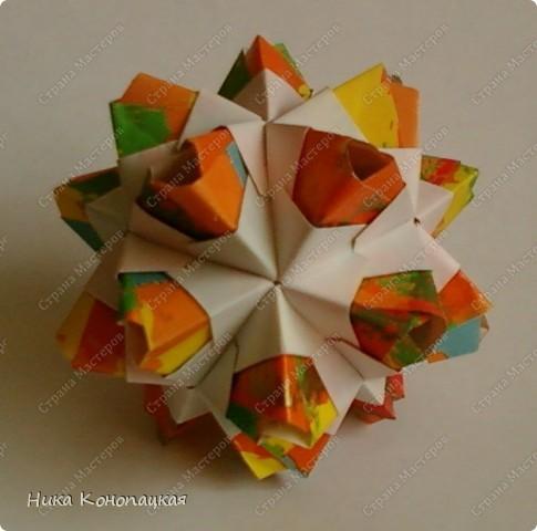 Name: Little Unit  Designer: Mariya Sinayskaya Parts: 30 Paper:3.5*7cm Joint: glue фото 3