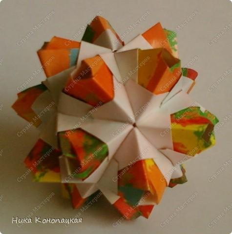 Name: Little Unit  Designer: Mariya Sinayskaya Parts: 30 Paper:3.5*7cm Joint: glue фото 1