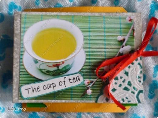 Глядя на старания мастериц Страны я решила сделать подарочную серию АТС. Дорогие мои! Приглашаю на чашечку чая! Дорогие мастерицы! Серия сделана под заказ.  Запланирована еще одна, там жду всех желающих :))   фото 6