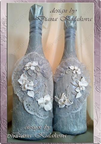 Свадебный набор: бокалы, свечи... фото 3