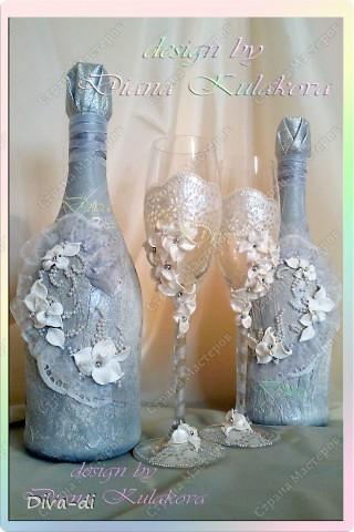 Свадебный набор: бокалы, свечи... фото 2