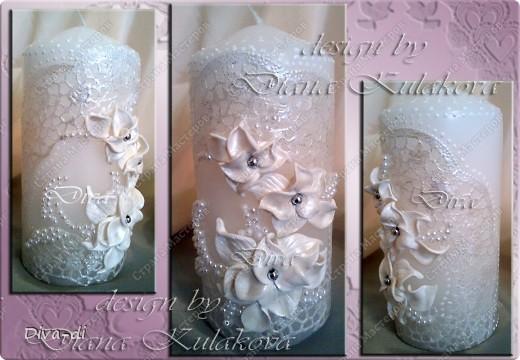 Свадебный набор: бокалы, свечи... фото 8