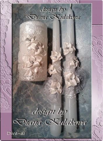 Свадебный набор: бокалы, свечи... фото 9