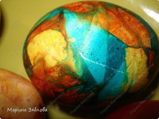 В этом году я решила покрасить яйца не традиционным способом.Потратила много времени , но результат того стоит.Спасибо мастерицам за идеи ))))) фото 1