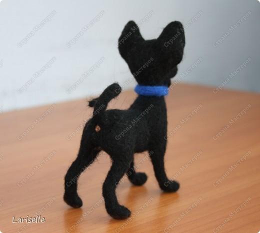 Собачка маленькая, высотой около 8см фото 2