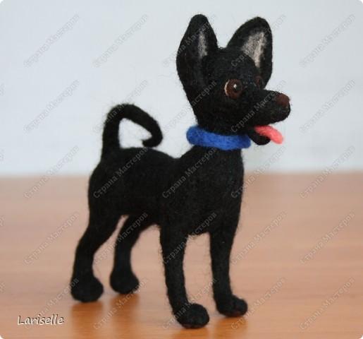 Собачка маленькая, высотой около 8см фото 3