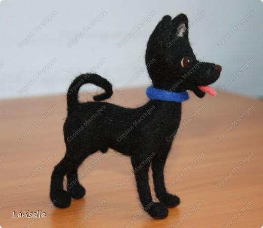 Собачка маленькая, высотой около 8см фото 4