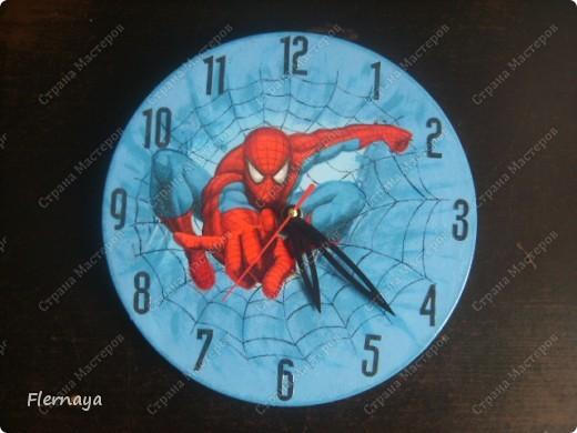 Часы. Основа - виниловая пластинка  фото 3