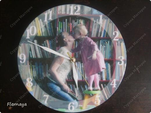 Часы. Основа - виниловая пластинка  фото 2