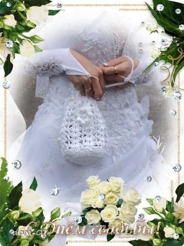 Связала подруге на венчание 06.05.2011 фото 1