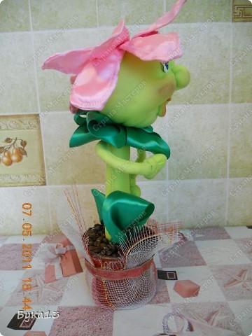 Притягивают меня куклы... Спасибо Любови Гамале за МК таких цветов. фото 2