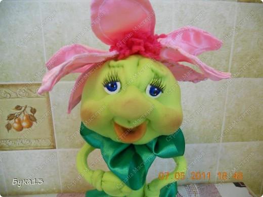 Притягивают меня куклы... Спасибо Любови Гамале за МК таких цветов. фото 4
