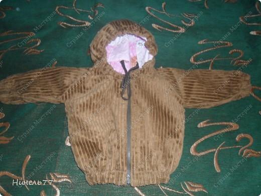 Вот такую курточку сшила для своего сынули! фото 2