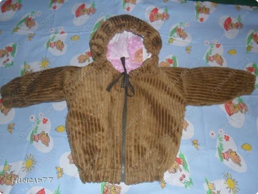 Вот такую курточку сшила для своего сынули! фото 1