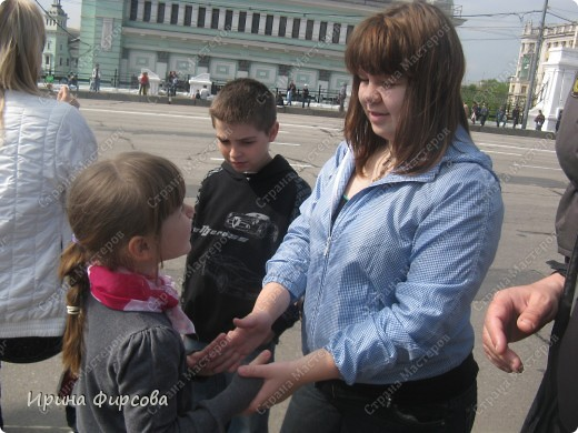 Фоторепортаж с Репетиции Парада (7 мая 2011 г. Москва) фото 5