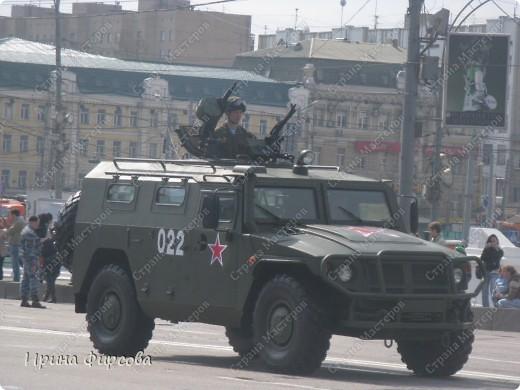Фоторепортаж с Репетиции Парада (7 мая 2011 г. Москва) фото 7