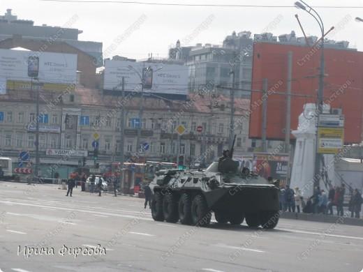 Фоторепортаж с Репетиции Парада (7 мая 2011 г. Москва) фото 8