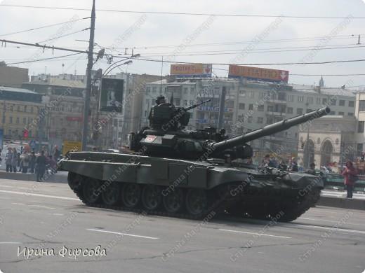 Фоторепортаж с Репетиции Парада (7 мая 2011 г. Москва) фото 9