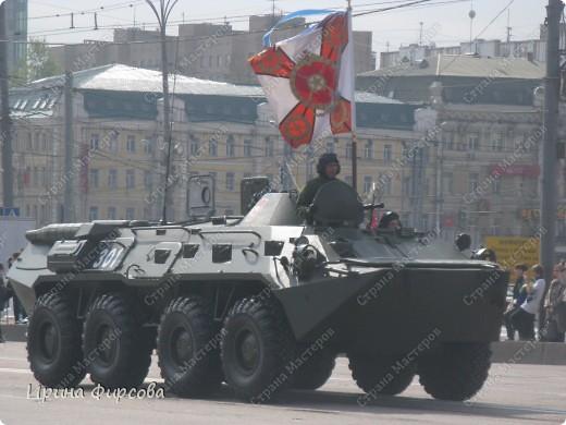 Фоторепортаж с Репетиции Парада (7 мая 2011 г. Москва) фото 12
