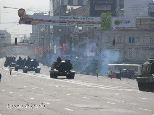 Фоторепортаж с Репетиции Парада (7 мая 2011 г. Москва) фото 13