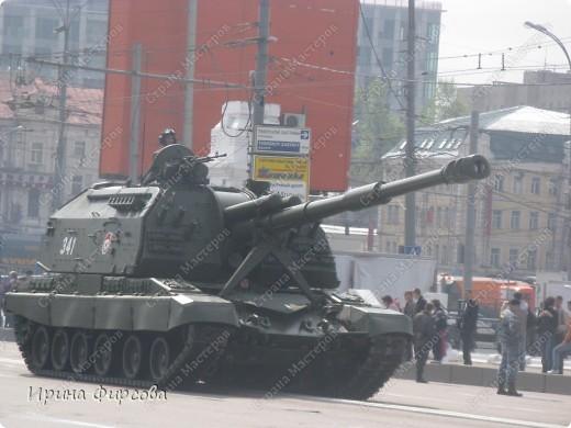 Фоторепортаж с Репетиции Парада (7 мая 2011 г. Москва) фото 14