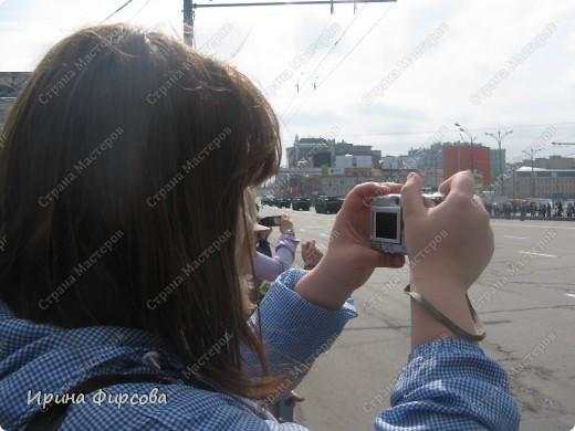 Фоторепортаж с Репетиции Парада (7 мая 2011 г. Москва) фото 16