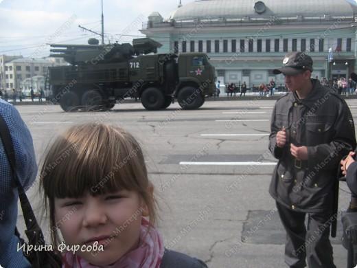 Фоторепортаж с Репетиции Парада (7 мая 2011 г. Москва) фото 19
