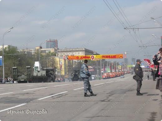 Фоторепортаж с Репетиции Парада (7 мая 2011 г. Москва) фото 22
