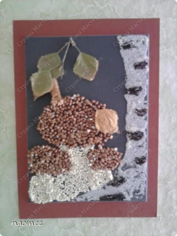 Осенью в школе была ярмарка к празднику урожая и нужно было как-то украсить стол. На скорую руку родились такие картинки. Теперь они живут у мамы на кухне. фото 1
