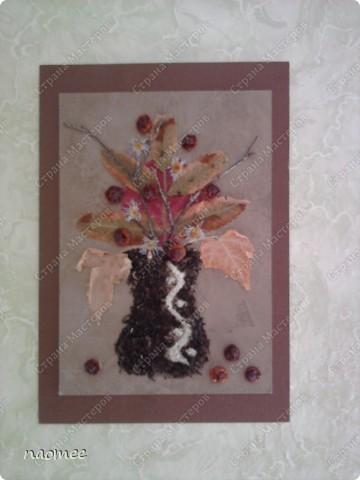 Осенью в школе была ярмарка к празднику урожая и нужно было как-то украсить стол. На скорую руку родились такие картинки. Теперь они живут у мамы на кухне. фото 3